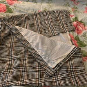 maggie mcnaughton Skirts - Midi, houndstooth skirt